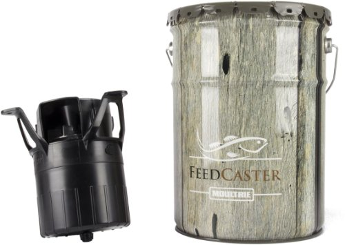 2-Moultrie-6-Gallon-Automatic-Pond-Fish-Feeders-2-6V-Rechargeable-Batteries-0-0