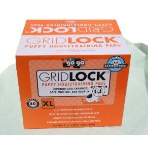 4-Cases-of-40-Pack-275-X-355-Extra-Large-Gridlock-Housebreaking-Wee-Wee-Pads-160-Pads-Total-0