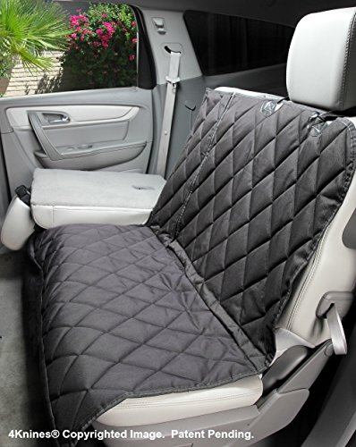 4knines Split Rear Car Seat Cover For Dogs Hammock