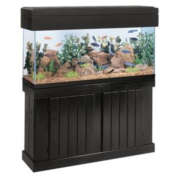 All-Glass-Aquarium-AAG51190-Pine-Cabinet-48×24-Inch-0