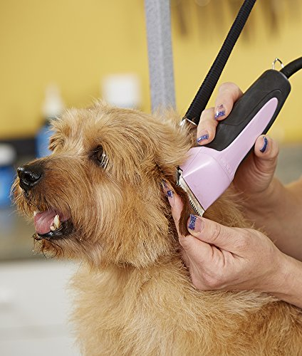 Andis-Excel-5-Speed-Pet-Grooming-Clipper-with-size-10-CeramicEdge-Blade-Pink-65425-0-1