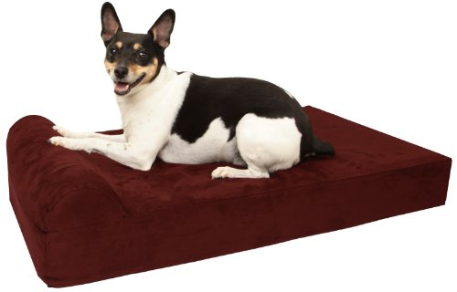 Big-Barker-Mini-4-Pillow-Top-Orthopedic-Dog-Bed-with-Headrest-for-Small-and-Medium-Sized-Dogs-20-50-Pounds-0
