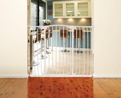 Dreambaby-Extra-Tall-Pressure-Mount-Hallway-Gate-0-1