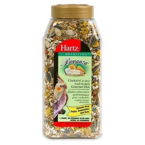 Hartz-91106-23-Oz-NutritionTM-BonanzaTM-Gourmet-Cockatiel-Diet-0