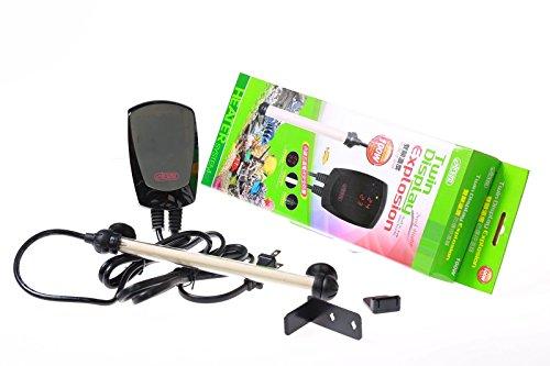 ISTA-Twin-Display-Thermostat-500W300W100W-Heater-50500-FISH-TANK-Salt-Water-0-0