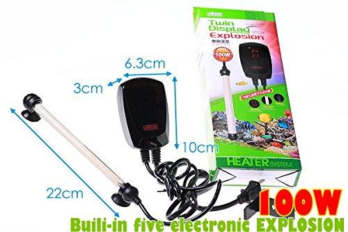 ISTA-Twin-Display-Thermostat-500W300W100W-Heater-50500-FISH-TANK-Salt-Water-0-1