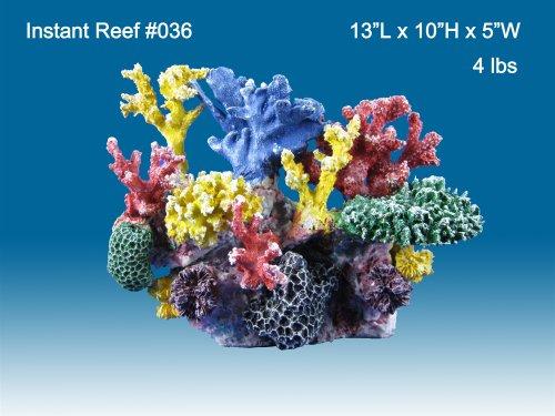 Instant Reef R036 Artificial Coral Reef Aquarium Decor For