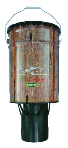 Moultrie-6-Gallon-Automatic-Pond-Fish-Feeder-6V-Rechargeable-Battery-Charger-0-0