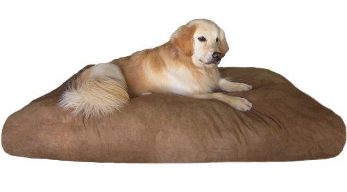 Overstuffed-XXXLarge-Jumbo-Orthopedic-Memory-Mix-Foam-Pet-Dog-Bed-Waterproof-Pillow-with-Washable-Microsuede-Cover-0