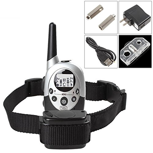 PetPhD-1100-Yard-Rechargeable-Waterproof-Dog-Training-Collar-with-Updated-2016-Crystal-LCD-Remote-Control-0-1