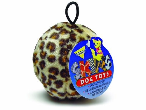 Petmate-Skins-Pattern-Dog-Toy-Ball-Shaped-featuring-a-Leopard-and-Giraffe-pattern-3-pack-Medium-0-1
