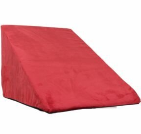 Snoozer-Scalloped-Pet-Ramp-Large-Red-0