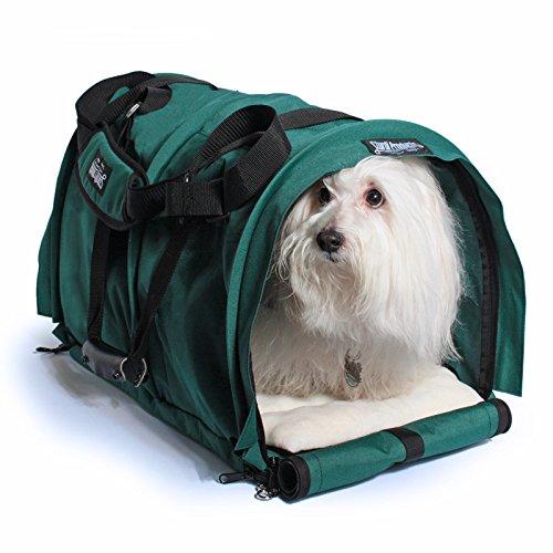 SturdiBag-XLarge-Divided-Pet-Carrier-Evergreen-0