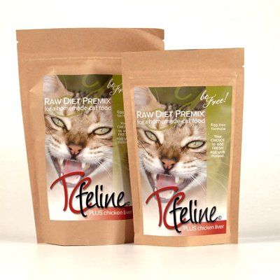 TCfeline-RAW-Cat-Food-Supplement-Premix-for-a-Homemade-All-Natural-Grain-Free-Holistic-Diet-With-Chicken-Liver-0-0