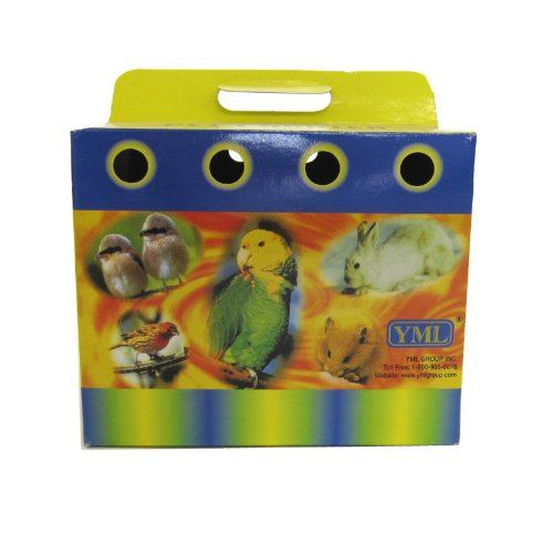 YML-Cardboard-Carrier-for-Small-Animals-or-Birds-Medium-Lot-of-100-0