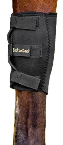 Back-on-Track-2-Piece-10-to-8-Inch-Therapeutic-Horse-Knee-Boots-Small-0