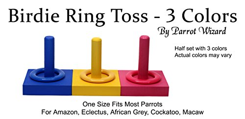 Birdie-Ring-Toss-3-Color-Medium-Ring-on-Peg-Trick-0