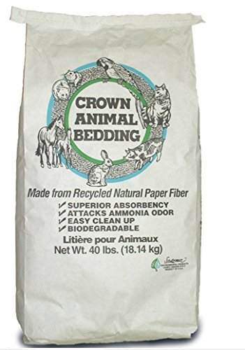Crown-Animal-Bedding-Made-Pelletized-Recycled-Paper-All-Natural-Fiber-40lbs-0