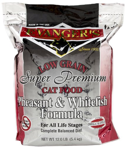 EVANGERS-776020-Pheasant-and-Whitefish-Dry-Cat-Food-12-Pound-0