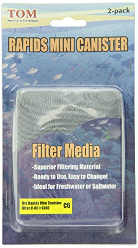 KollerCraft-TOM-Replacement-Filter-Media-for-Rapids-Mini-Canister-Filter-TM1300-Two-Pack-0-0