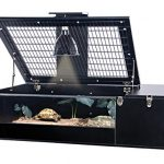 Penn-Plax-Tortoise-Palace-with-Wire-Top-Black-Frame-and-Glass-Terrarium-0