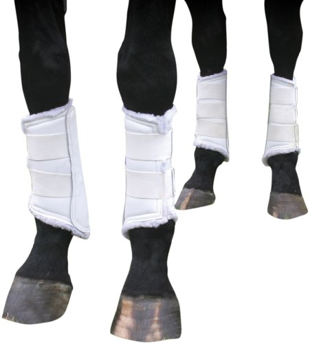 Professionals-Choice-Equine-Leather-Protection-Boot-Value-Pack-Set-of-4-0