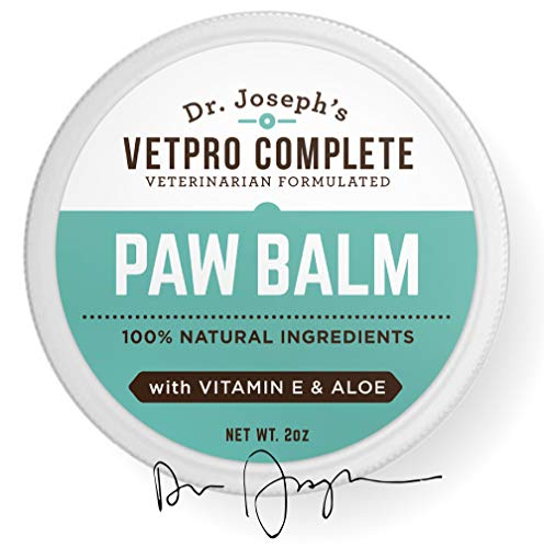 100-Natural-Vet-Formulated-Paw-and-Nose-Balm-Wax-for-Dogs-and-Cats-with-Vitamin-E-and-Aloe-Heals-Soothes-and-Protects-Cracked-and-Dry-Paws-and-Noses-Made-in-USA-0