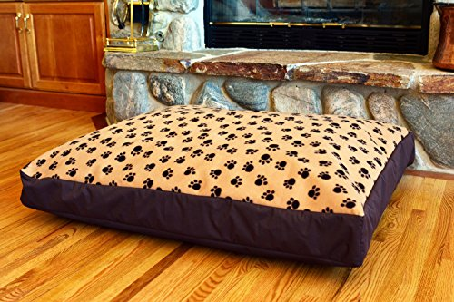 100-Waterproof-Fleece-DIY-Design-It-Yourself-Dog-Bed-Cover-Washable-Hypoallergenic-Made-in-USA-Cover-ONLY-0