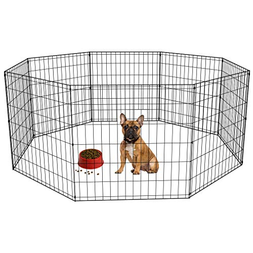 2-Door-Pet-Wire-Cage-with-ABS-Pan-0