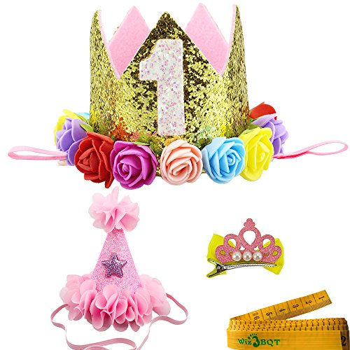2-Pcs-Adorable-Cute-Crown-Shaped-Cat-Dog-Pet-1-Year-Birthday-Headband-and-Pink-Star-Hair-Head-Bands-Accessories-for-Dogs-Cats-Pets-0