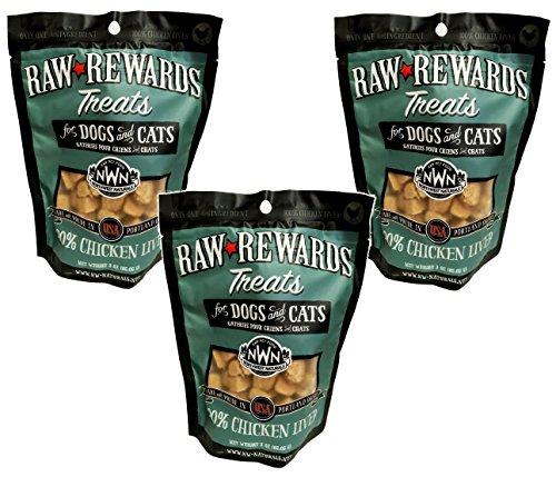 3-Pack-Northwest-Naturals-Raw-Rewards-Freeze-Dried-Liver-Treats-Chicken-3-Ounces-each-0