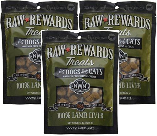 3-Pack-Northwest-Naturals-Raw-Rewards-Freeze-Dried-Liver-Treats-Lamb-3-Ounces-Each-0