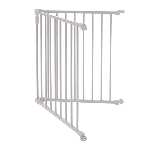 3-in-1-Metal-Superyard-Two-Panel-Extension-by-North-States-Adds-2-Panels-to3-in-1-Metal-Superyard-for-an-Extra-Wide-gate-or-Portable-Play-Yard-Adds-up-to-48-Width-Gray-0-0