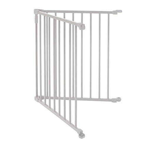 3-in-1-Metal-Superyard-Two-Panel-Extension-by-North-States-Adds-2-Panels-to3-in-1-Metal-Superyard-for-an-Extra-Wide-gate-or-Portable-Play-Yard-Adds-up-to-48-Width-Gray-0