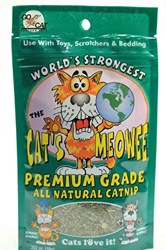 352-Ounce-The-Cats-Meowee-All-Natural-Premium-Grade-Cat-Nip-Pack-of-3-0