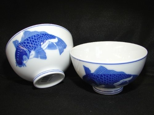 4-Pcs-of-Porcelain-Rice-Bowls-with-Blue-Fish-0