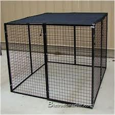 58ft-X-10ft-Black-Dog-Kennel-Shade-Covers-Sunblock-Tops-0-2