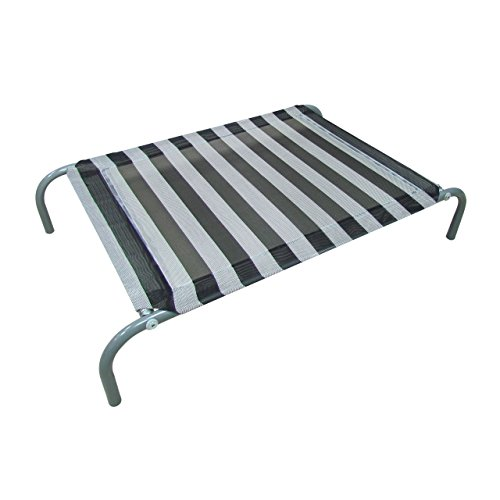 ALLMAX-Elevated-Pet-Bed-with-Mesh-Fabric-and-Steel-Frame-0-0