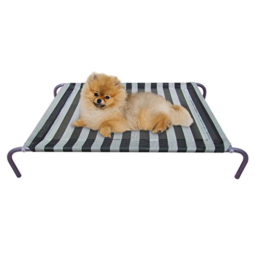 ALLMAX-Elevated-Pet-Bed-with-Mesh-Fabric-and-Steel-Frame-0-1