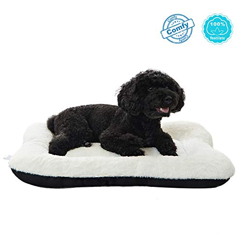 ANWA-Dog-Bed-Pet-Cushion-Crate-Mat-Soft-Pad-Washable-and-Cozy-for-Medium-Dog-0