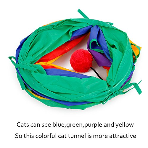 Ace-one-Cat-Tunnel-Pet-Tube-Collapsible-Play-Toy-Indoor-Outdoor-Kitty-Puppy-Toys-for-Puzzle-Exercising-Hiding-Training-and-Running-with-Fun-Ball-and-Two-Peek-Hole-0-0
