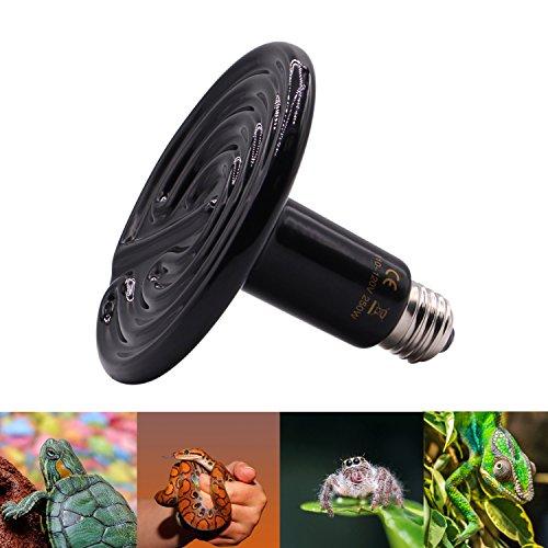 Aiicioo-High-Watt-110-Volt-Ceramic-Heat-Emitter-for-Reptiles-or-Amphibians-Infrared-Heater-Emitter-250-Watt-Black-0-1