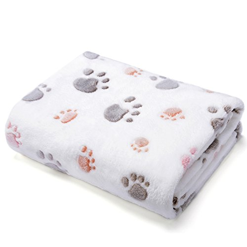 Allisandro-Super-Soft-and-Fluffy-Dog-Cat-Puppy-BlanketTotal-4-Sizes-for-Small-Medium-Large-Pet-Beige100-Flannel-Fleece-0