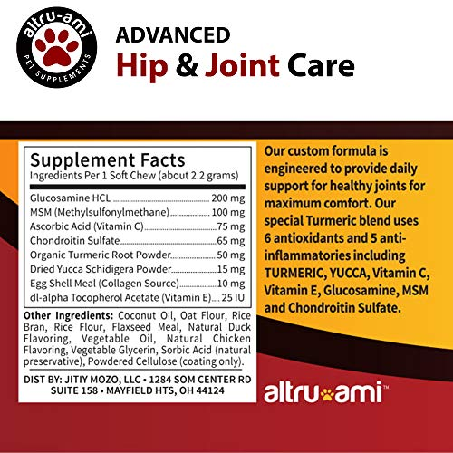 Altru-Ami-Best-Glucosamine-Chondroitin-MSM-for-Dogs-Vitamin-C-E-Turmeric–Hip-Joint-Supplement-Advanced-Canine-Care–Help-Relieve-Arthritis-Hip-Pain-Dysplasia-Made-in-USA-120-Soft-Chews-0-1