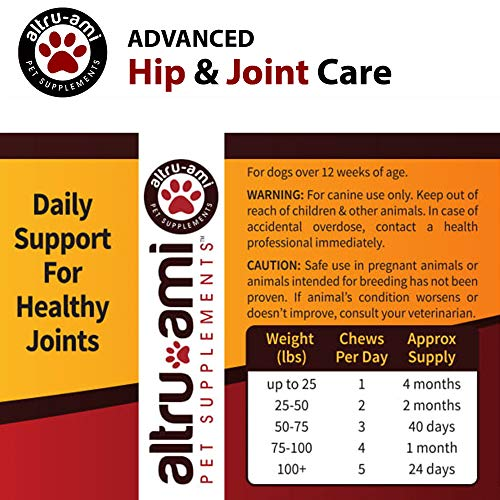 Altru-Ami-Best-Glucosamine-Chondroitin-MSM-for-Dogs-Vitamin-C-E-Turmeric–Hip-Joint-Supplement-Advanced-Canine-Care–Help-Relieve-Arthritis-Hip-Pain-Dysplasia-Made-in-USA-120-Soft-Chews-0-2