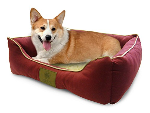 American-Kennel-Club-Self-Heating-Solid-Pet-Bed-0