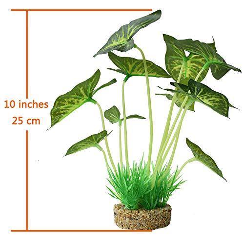 Aquarium-Plants-DecorationArtificial-Plants-for-Fish-Tank10-Inches25cm-High2-Pack-0-0