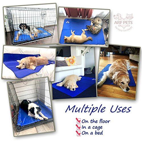 Arf-Pets-Pet-Dog-Self-Cooling-Mat-Pad-for-Kennels-Crates-and-Beds-0-2