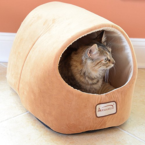 Armarkat-Cat-Dog-Pet-Bed-House-in-Brown-0-1