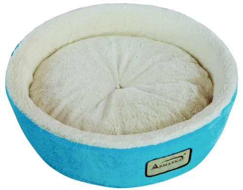 Armarkat-Round-or-Oval-Shape-Pet-Cat-Bed-for-Cats-and-Small-Dogs-0